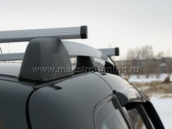 ...багажник на автомобиль Chevrolet-Niva Данные рейлинги подходят для любых модификаций автомобилей ШЕВРОЛЕ-НИВА.
