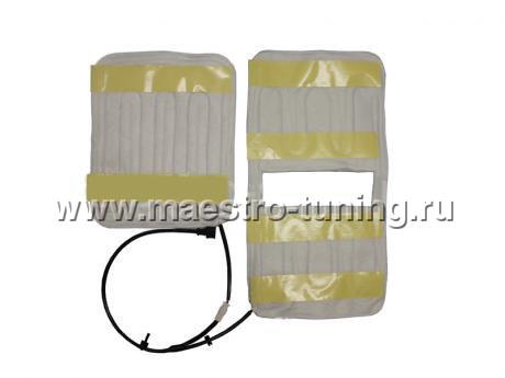 Комплект обогрева сидений на ВАЗ 2110-11-12 Встраиваемый (заводской) комплект обогрева сидений в сборе (на 2 сидения)...