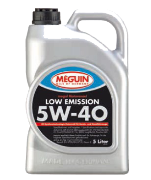 Low Emission SAE 5W-40