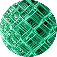 Сетка-рабица в полимерном покрытии (ПВХ) со склада в Иркутске