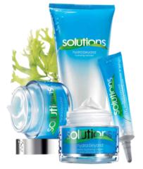 """Новая освежающая линия Solutions """"Максимум увлажнения"""" с экстрактом водорослей."""